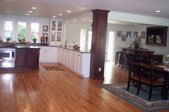 Kitchen Photos With Support Beams Kitchen And Bar