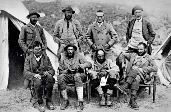 The Mountaineers Of The First Expedition To Mount Everest