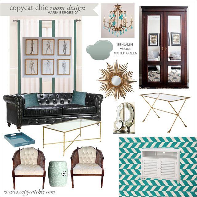 Copy Cat Chic Clients Maria Bergesio 7712 Copy Cat Chic Room Designs P