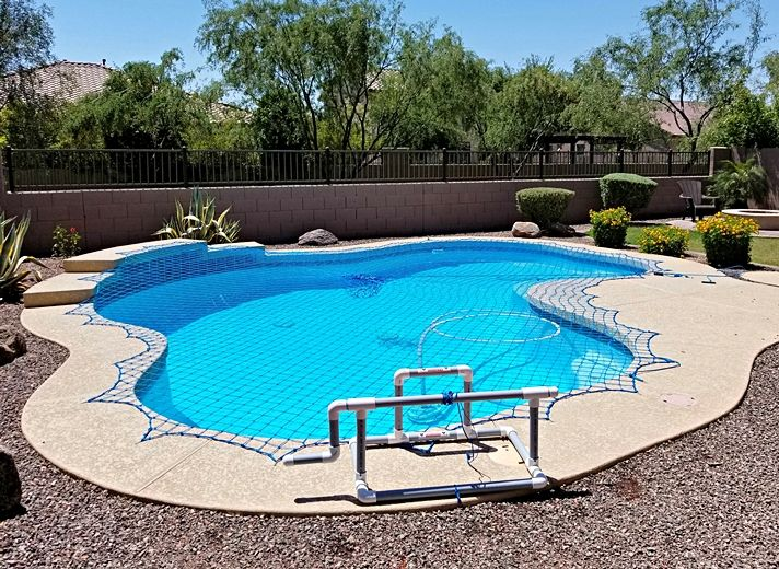We Are Often Asked How Much Does A Pool Safety Net Cost Modern Swimming Pool Features Vary Considerably So For A Firm Est Pool Safety Pool Pool Safety Net