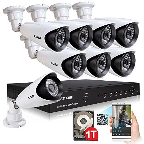 Special Offers - ZOSI Home CCTV Security Camera System 1TB Hard Drive 8CH 960H Network DVR 1000TVL Day Night 3.6mm Outdoor 960H Surveillance Cameras - In stock & Free Shipping. You can save more money! Check It (October 25 2016 at 08:05AM) >> http://smokealarmusa.net/zosi-home-cctv-security-camera-system-1tb-hard-drive-8ch-960h-network-dvr-1000tvl-day-night-3-6mm-outdoor-960h-surveillance-cameras/