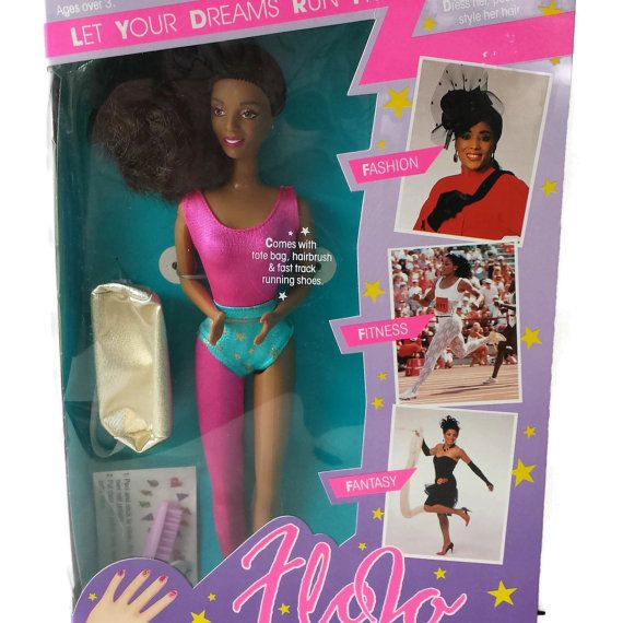 Flo Jo Fashion Doll Florence Griffith Joyner by EclecticVintager