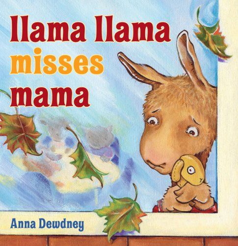 Llama Llama Misses Mama (Picture Story Book) Just read this book online to Jade...pretty much cried through the whole thing! It was so sweet!