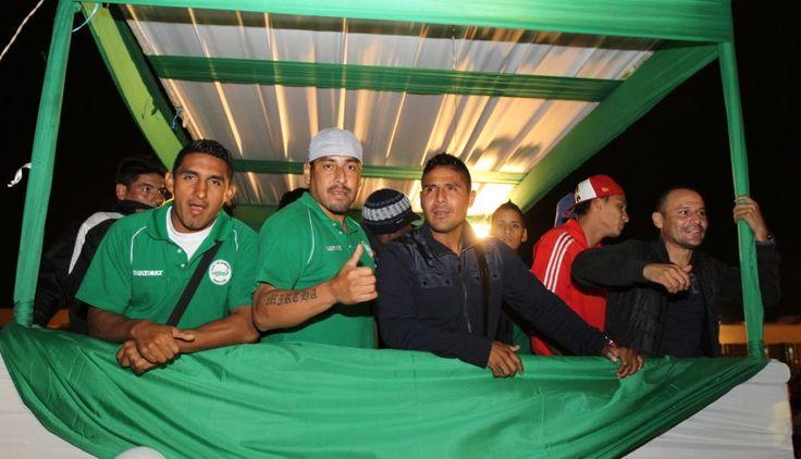 Los Caimanes: así recibieron a los campeones en Chiclayo. #depor