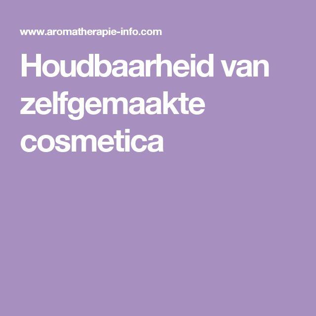 Houdbaarheid van zelfgemaakte cosmetica