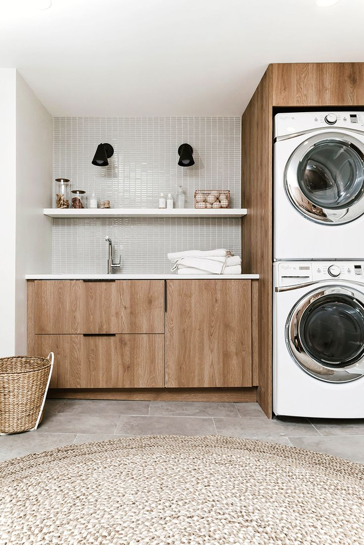 best 25 modern laundry rooms ideas on pinterest landry. Black Bedroom Furniture Sets. Home Design Ideas