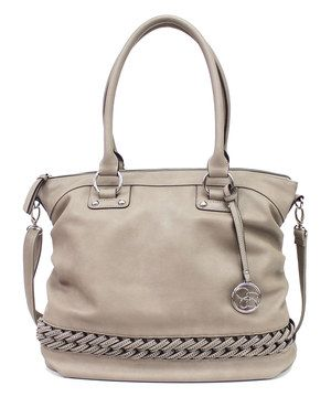 Another great find on #zulily! Gray Bonita Tote by Jessica Simpson Collection #zulilyfinds