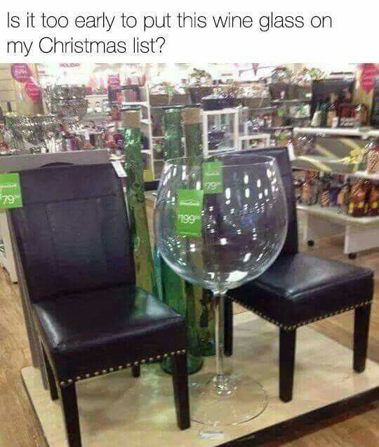 Love love love this huge wine glass #drink #meme #funny