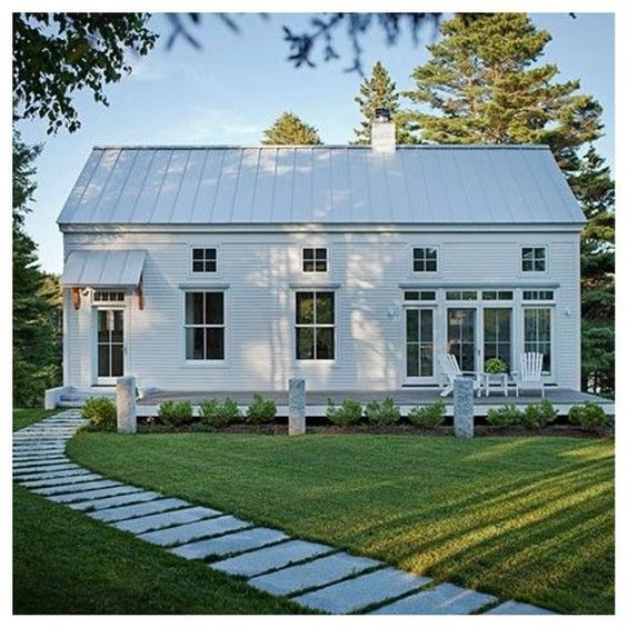 Best 25 exterior remodel ideas on pinterest exterior for Modern french farmhouse