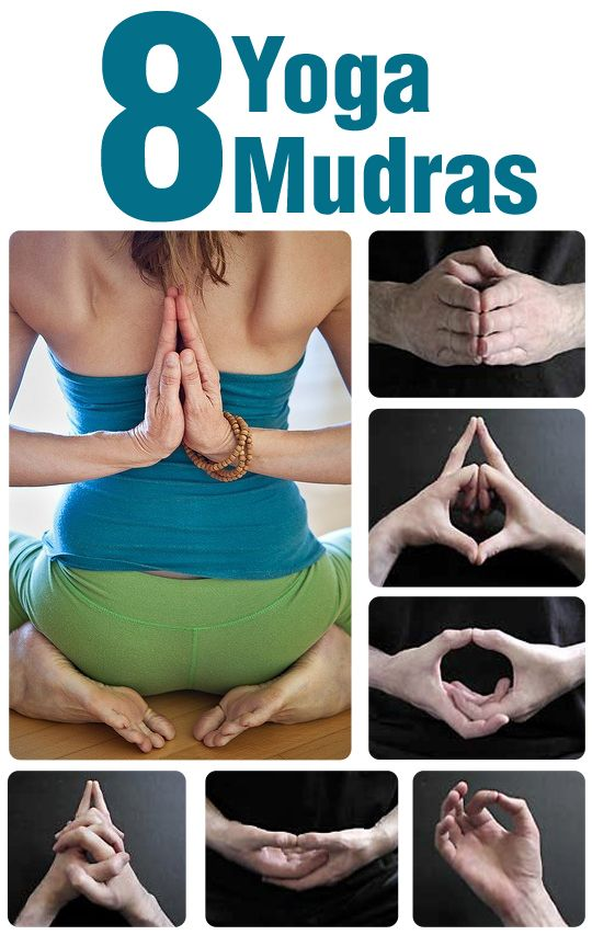 8 Yoga Mudras - my yoga instructor brought these up over spring break, and I liked what she had to say. Good for any ailment