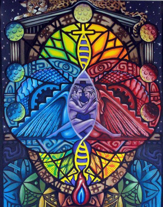 The Psychedelic Apocalypse: Life, Twinflames Artist, Color, Sacred Geometry, Twinflames Twin, Sacred Union, Twin Flames