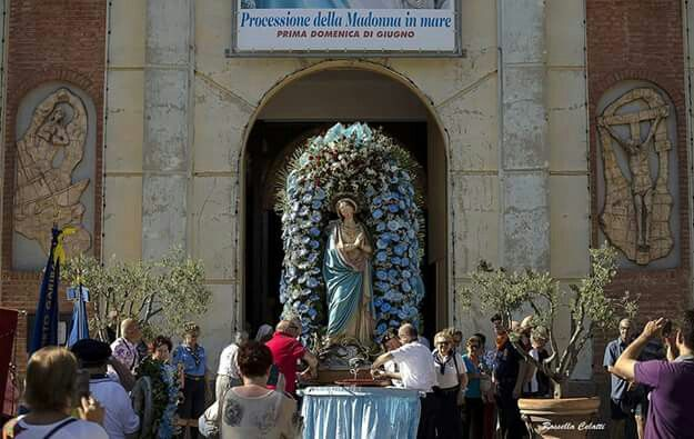 Festa della Madonna del mare che si svoge ogni anno nella prima domenica di giugno