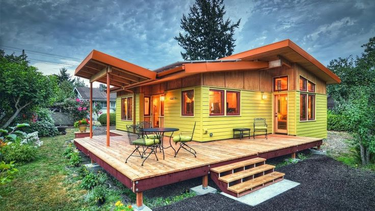 800 Sq Ft Oregon River Road House A Small Timber
