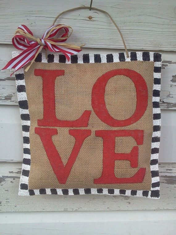 Best Burlap Door Decor Images On   Xmas Burlap