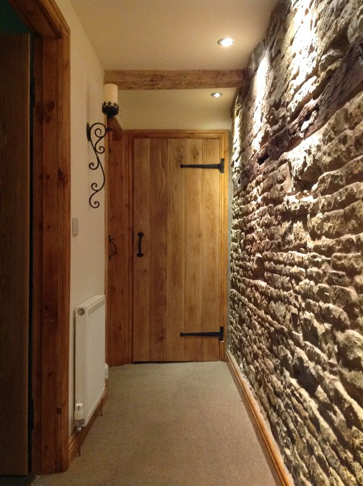 Solid Oak Barn Door Traditional Cottage Barn Door