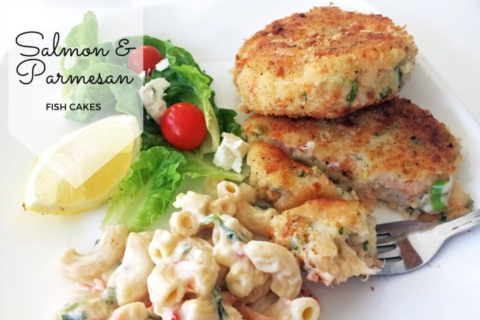 Salmon and Parmesan Fish Cakes
