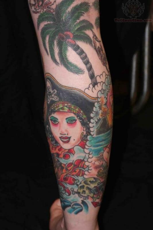 Best 25+ Pirate girl tattoos ideas on Pinterest   Pirate ... - photo#19
