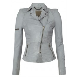 Muubaa Lyra Biker Jacket - Charcoal £405.00