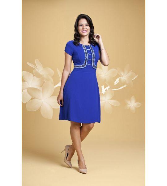 6326 - Vestido Classica - Floratta Modas