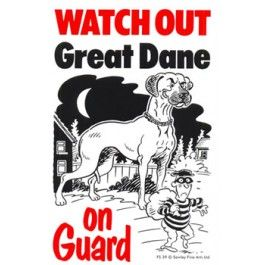 27 Best Watch Out Dog Signs Images On Pinterest