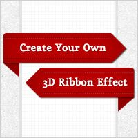 How to Create a 3D Ribbon Wrap-Around Effect
