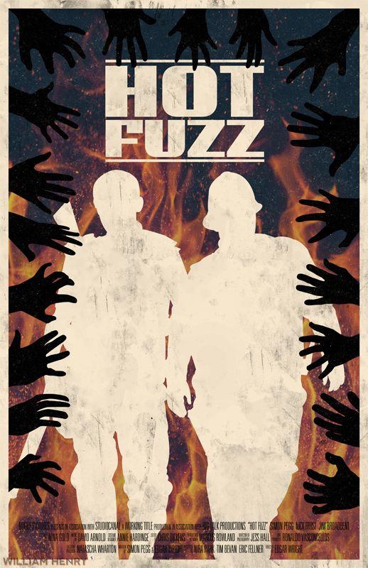 Hot Fuzz - movie poster - William Henry