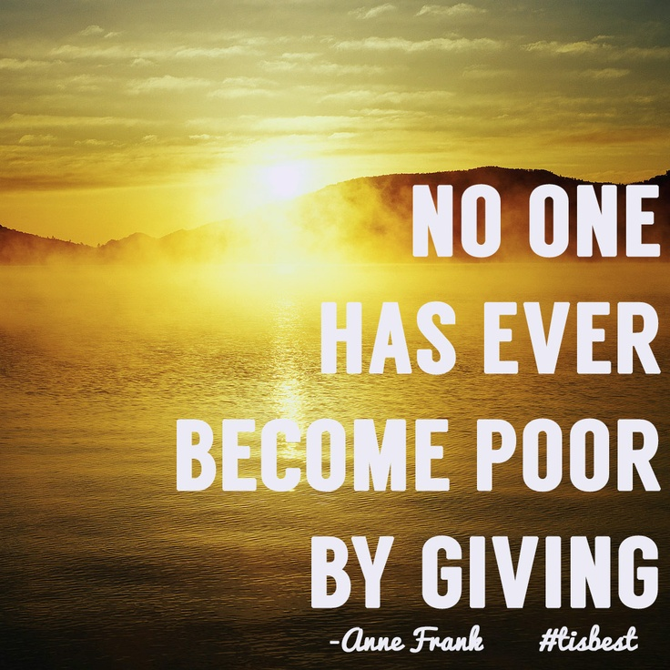 Tithes and offerings. By not giving we lose the opportunity for God to do bigger and greater things. #Trustinhim