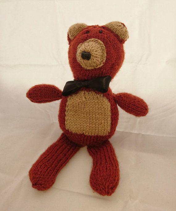 Fuzzy Bear  Gifts For Kids  Made to order  by TheWoolLadyUK
