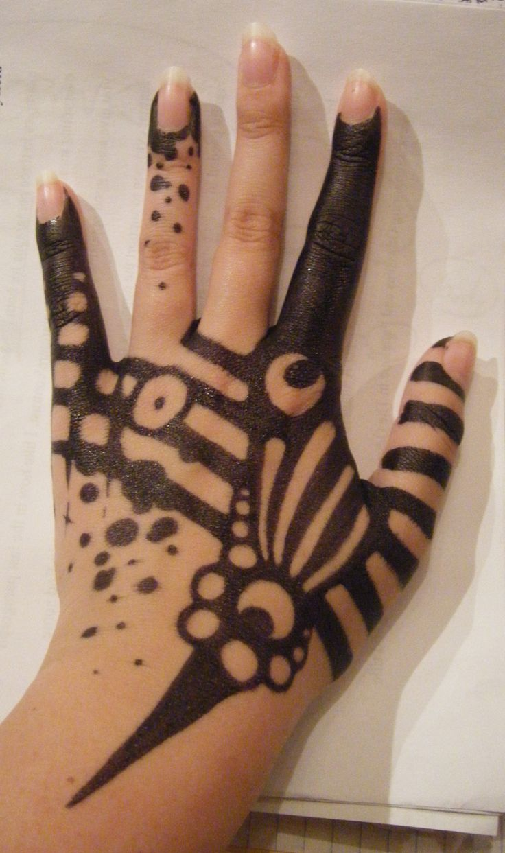 Sharpie tattoo, love it. Not real, but really creative