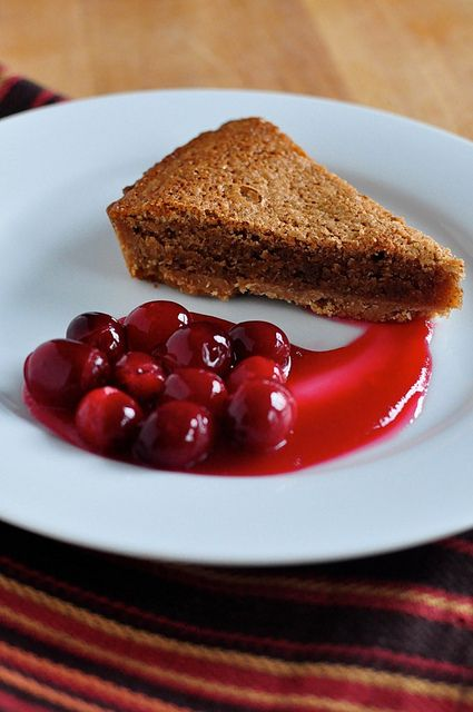 ... Confections: Pecan-Orange Frangipane Crostata with Candied Cranberries