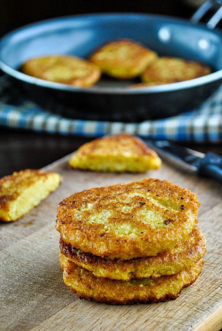 VeganSandra - Easy pea and cabbage patties