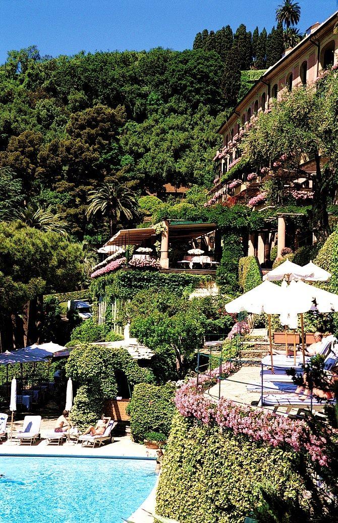 Hotel Splendido, Portofino, Italy.