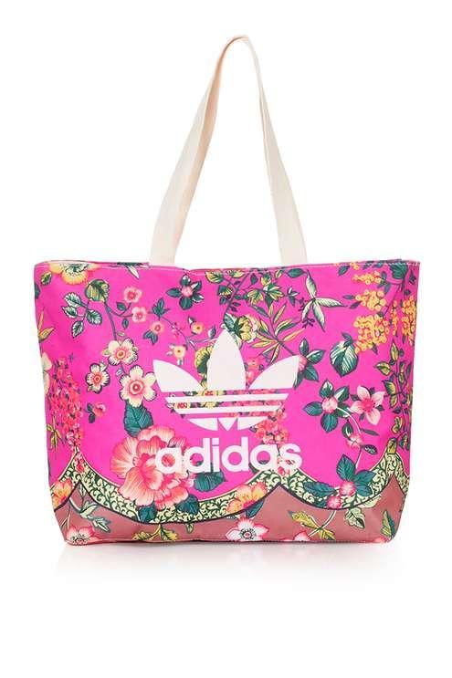 Floral Tote Bag by Adidas Originals