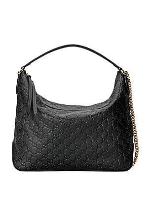 Gucci Signature Large Hobo Bag