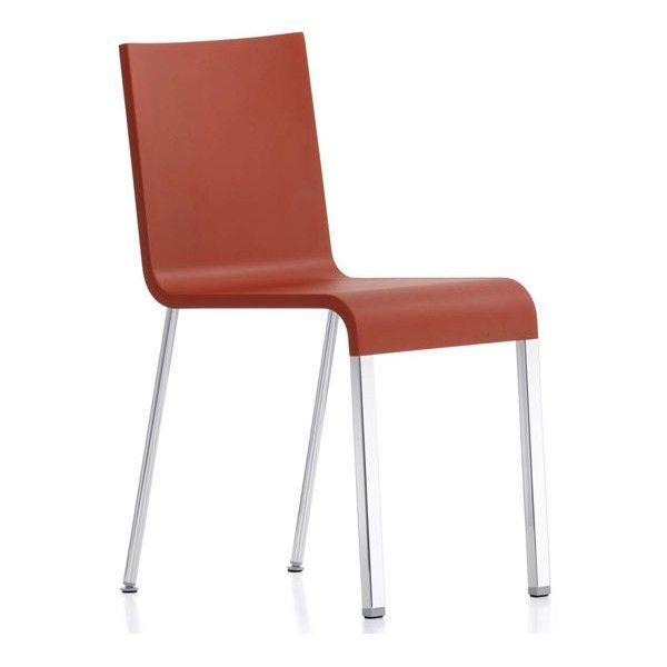 .03 stoel met chroom onderstel niet stapelbaar | Vitra