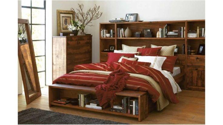 Library 4 Piece Queen Bedroom Suite Beds Amp Suites