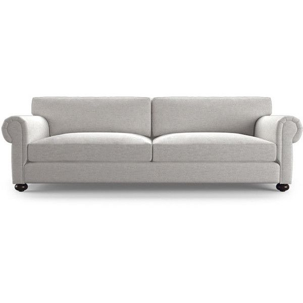 Oliver Mid Century Modern Gray Sleeper Sofa ($2,600) ❤ Liked On Polyvore  Featuring Home