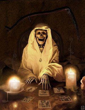 APRENDE A LEER EL TAROT SANTA MUERTE - santamuerteindeleble