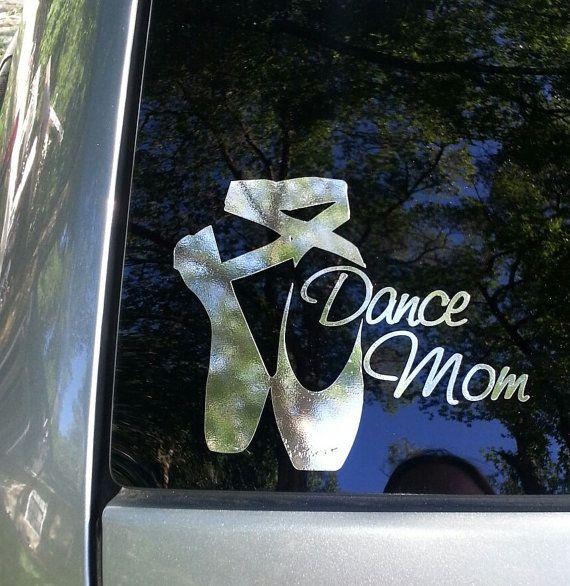 DANCE MOM Car Window Decal on Etsy, $10.00