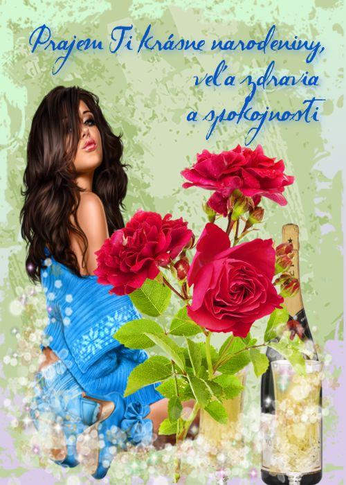 Prajem Ti krásne narodeniny, veľa zdravia a spokojnosti