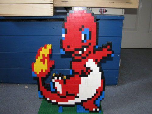 lego pokemon center instructions