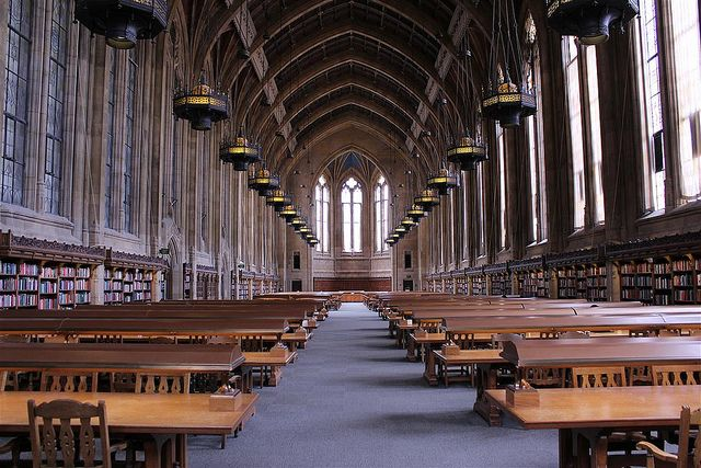 Things to do in Seattle: Suzzallo Reading Room by hisperati