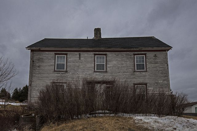 Great abandoned older home found in Holyrood, Newfoundland. Looks to be all original from the time it was built.
