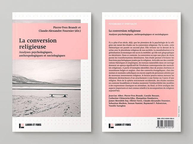 Cover & Back Cover Design | overlap | Editions Labor et Fides