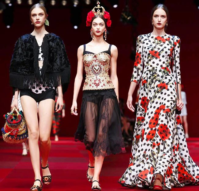 Image from http://cdn.fashionisers.com/wp-content/uploads/2014/09/DolceGabbana_spring_summer_2015_collection_Milan_Fashion_Week1.jpg.