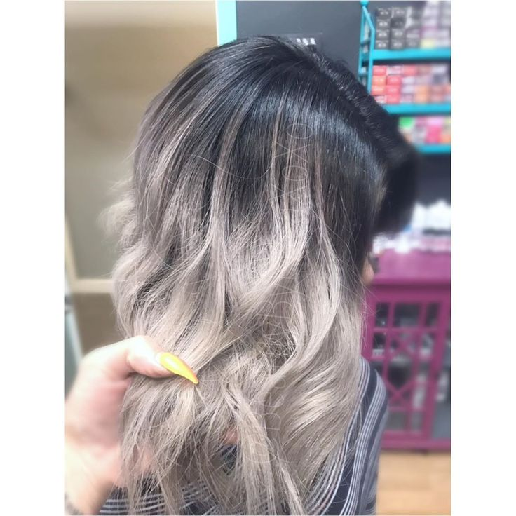 Black to Silver (swipe 👈🏽 left to see her transformation.)• • • • …