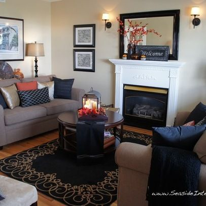 Fall Color Living Room Ideas Living Room Design Ideas Pictures