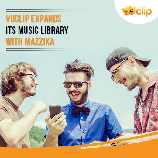 Vuclip's partnership with مزيكا Mazzika now offers you unmatched access to the largest catalog of Arabic music videos.