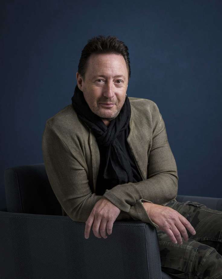 "In this April 12, 2017 photo, Julian Lennon poses for a portrait in New York to promote his children's book, ""Touch the Earth."" (Photo by Drew Gurian/Invision/AP) Photo: Drew Gurian, Drew Gurian/Invision/AP / 2017 Invision"