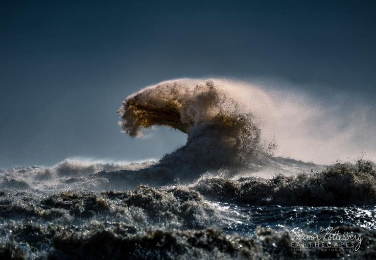 The Claw - Order 640 - featuring a massive Lake Erie Wave reaching out from the murky depths like a claw from an animal.